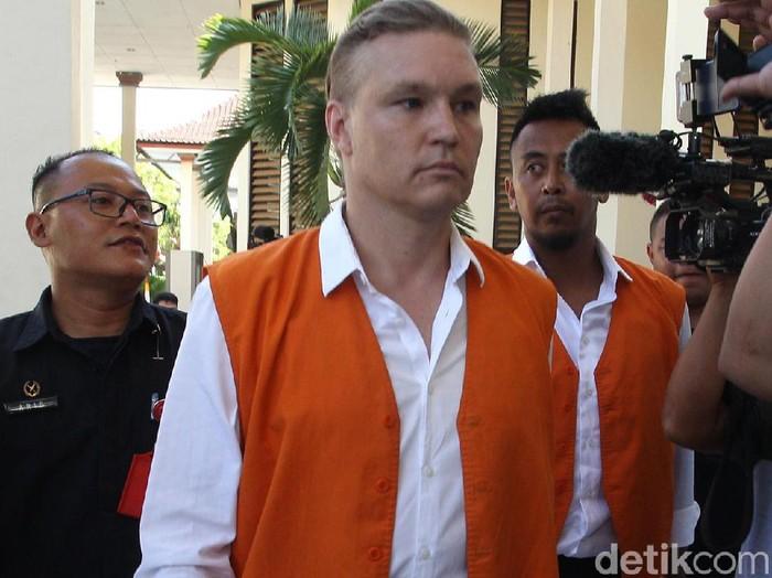 WN Australia disidang di PN Denpasar karena kokain, Rabu (20/11/2019) Foto: Aditya Mardiastuti-detikcom