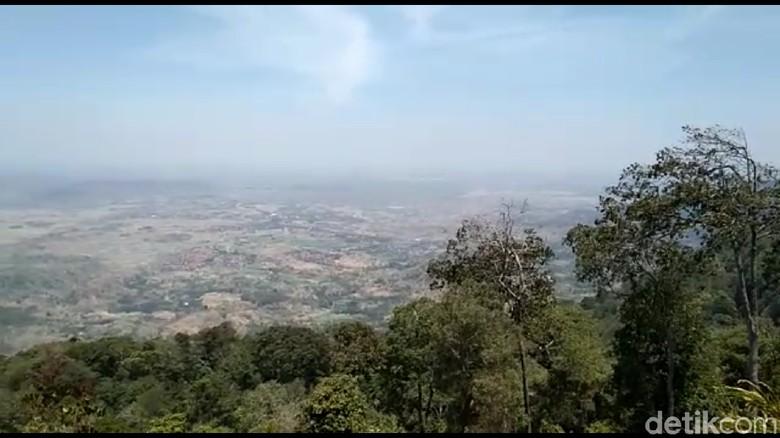 Pemandangan Bukit Bintang di Brebes (Foto: Imam Suripto/detikcom)