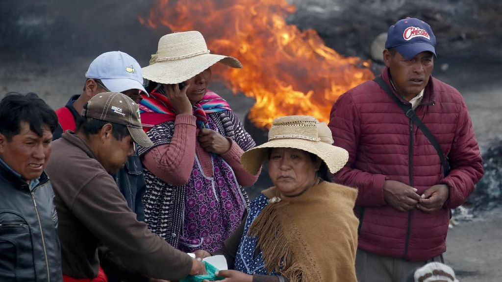 Bolivia Rusuh, Eks Presiden Morales Dituduh Lakukan Terorisme