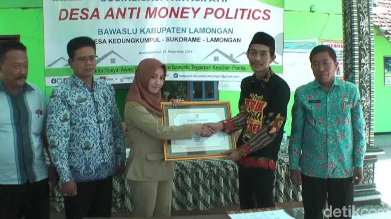 Desa yang Dipimpin Kades Cantik Angely Jadi Pilot Project Anti Money Politic