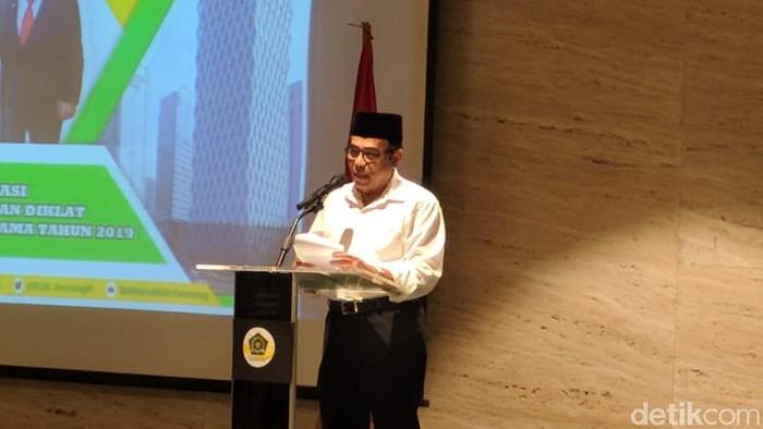 Menteri Agama (Menag) Fachrul Razi  (Jefrie/detikcom)