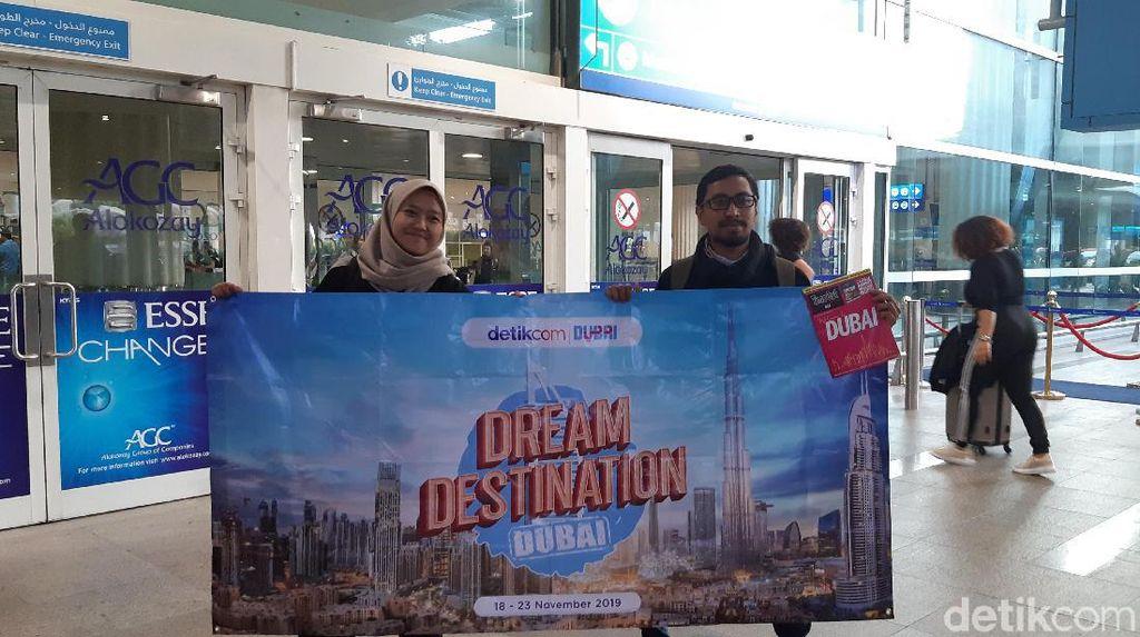 Di Dubai, Pemenang dTraveler Langsung Berasa bagai Sultan