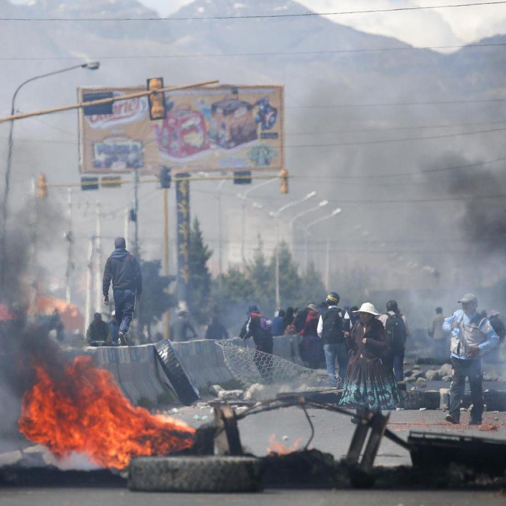 Ricuh Pemblokiran BBM di Bolivia, 3 Orang Tewas