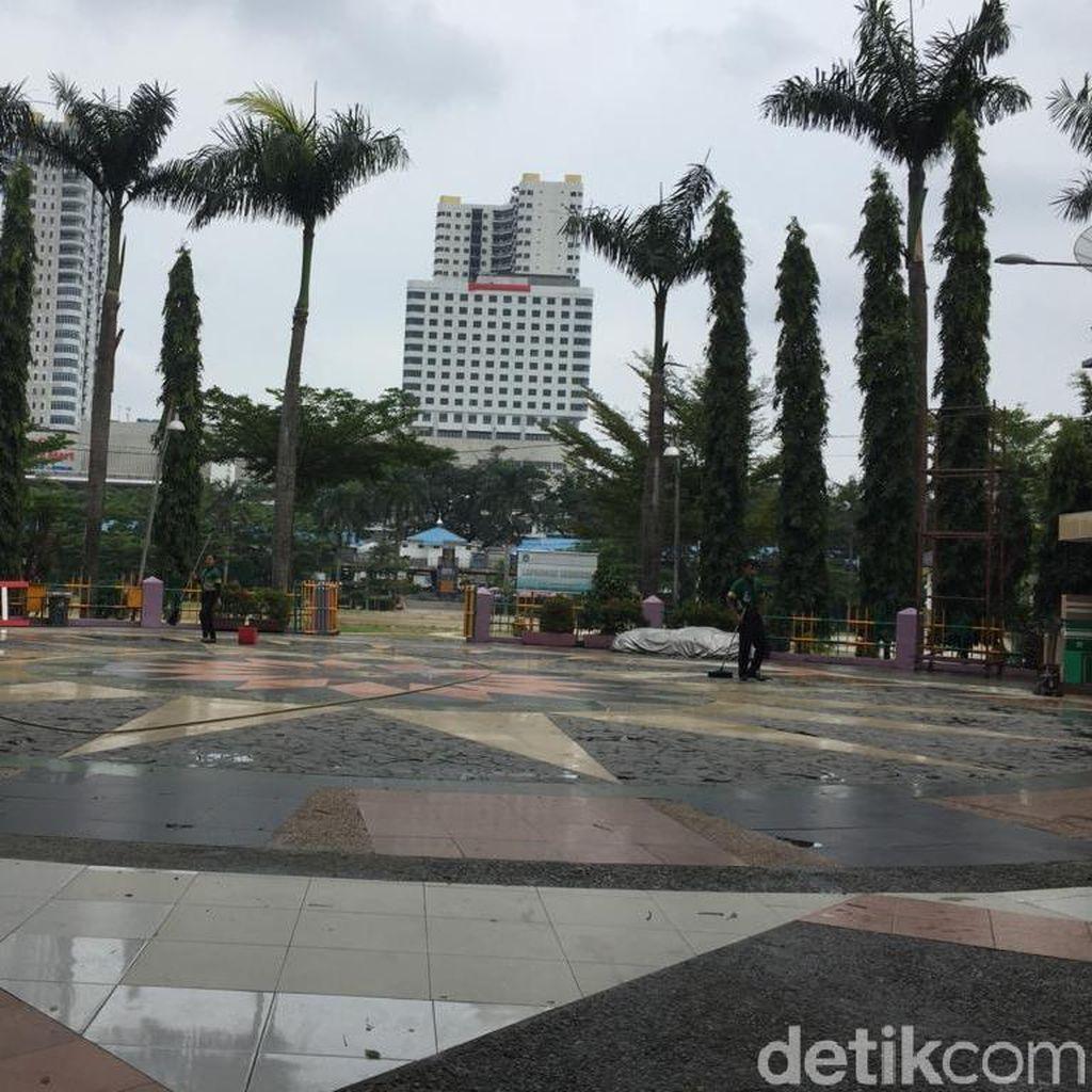 Gubernur Edy Minta Merdeka Walk di Lapangan Merdeka Medan Dibongkar