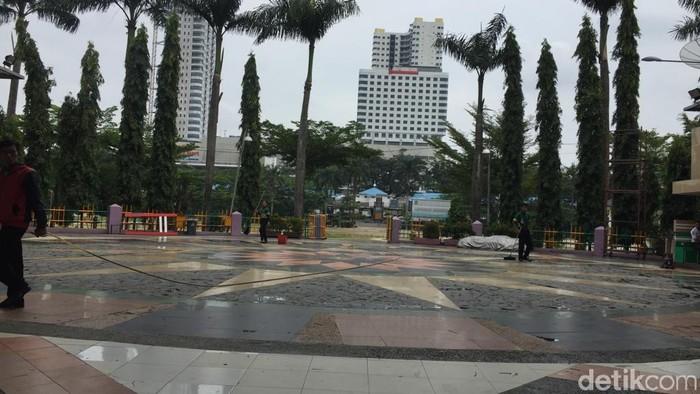 Lapangan Merdeka Medan, Sumut (Khairul Ikhwan/detikcom)