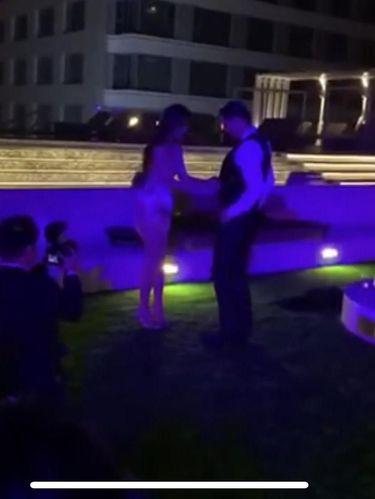 Mantan Pacar Jerry Yan Buka Baju Suaminya Secara Brutal di Pesta Pernikahan