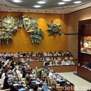 Basuki hingga Suharso Monoarfa Rapat Bareng DPR Bahas Ibu Kota Baru