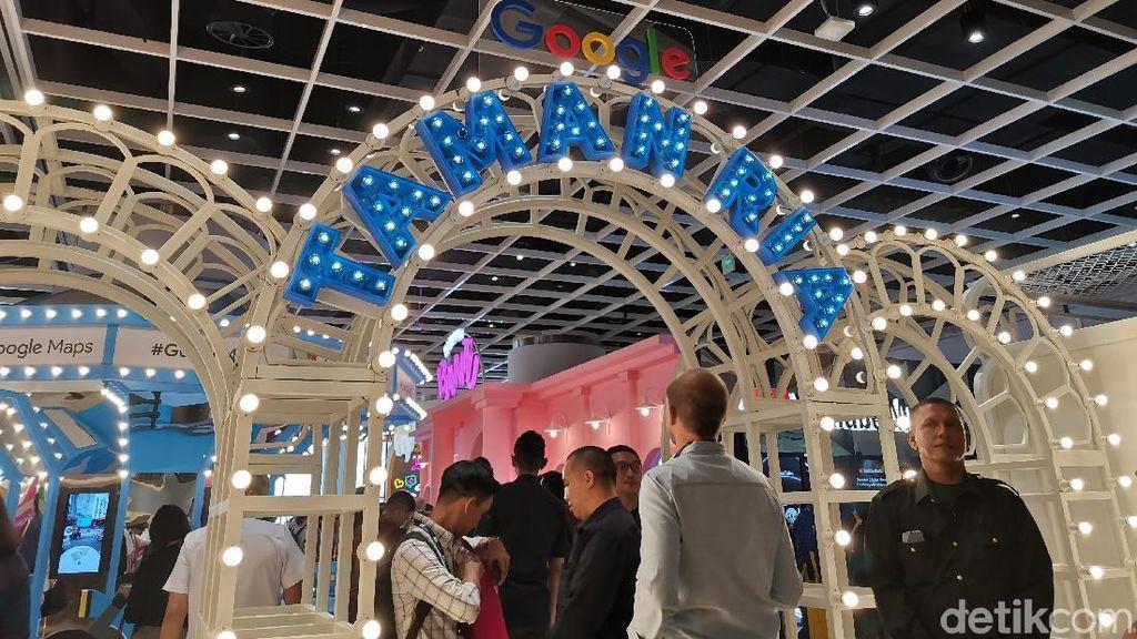 Taman Ria Google Indonesia Pamerkan Fitur-fitur Canggih