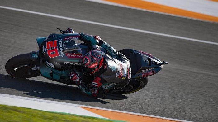 Alex Marquez Crash Quartararo Kuasai Hari Pertama Tes MotoGP Valencia