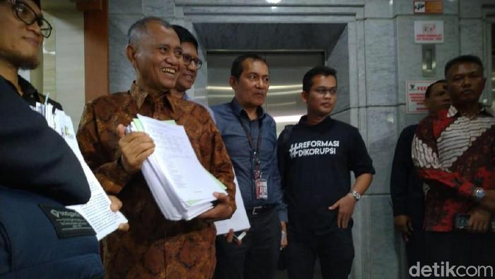 Agus Rahardjo Cs ke MK, Ajukan Gugatan UU KPK Baru (Foto: Sachril Agustin Berutu/detikcom)
