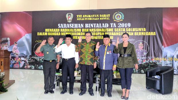 Di Acara Bina Mental TNI AD, Menag Bicara Upaya Jaga Persatuan Umat Beragama