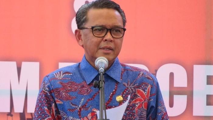 Gubernur Sulawesi Selatan (Sulsel) Nurdin Abdullah (Noval Dhwinuari Antony/detikcom)