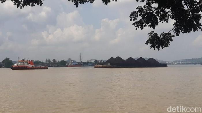 Foto: Yovanda-detikcom/Sungai Mahakam Samarinda Kaltim