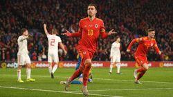 Dua Gol Ramsey Loloskan Wales ke Piala Eropa 2020