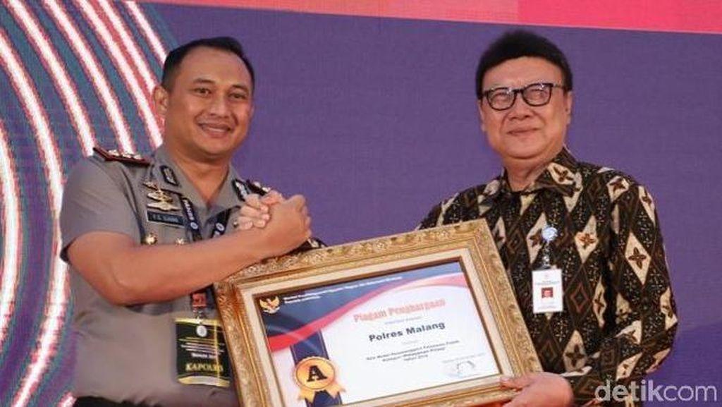 Predikat Pelayanan Prima Diraih Polres Malang dari Kemenpan RB
