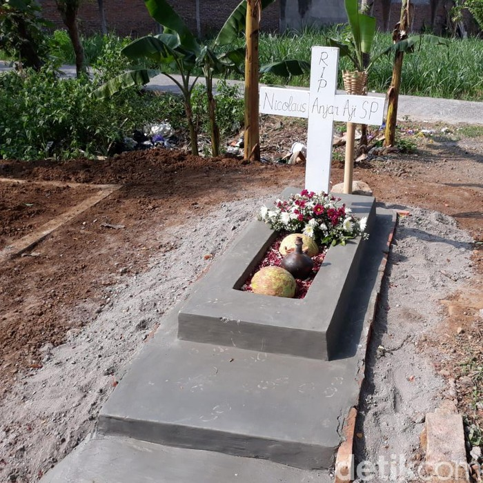Makam NA di Karanganyar (Bayu Ardi/detikcom)