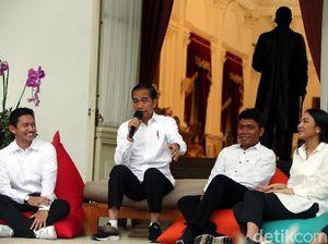 3 Gaya Berbeda Jokowi Kenalkan Para Pembantunya
