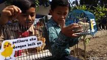 Pemkot Bandung Mulai Chickenisasi Cegah Pelajar Kecanduan Gadget