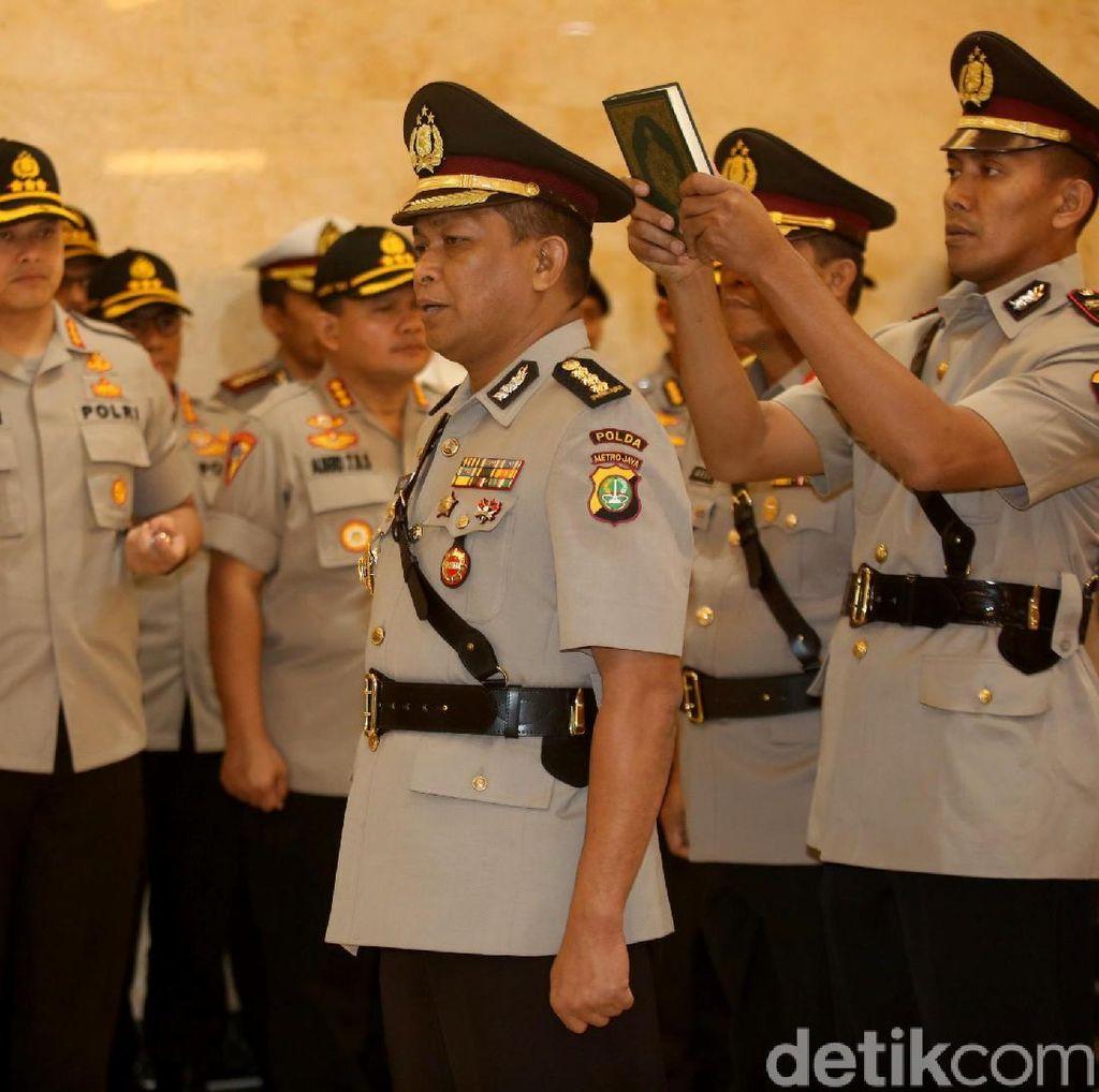 Kombes Yusri Yunus Dilantik Jadi kabid Humas Polda Metro Jaya
