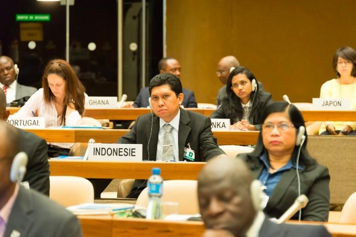Suasana diskusi rumusan pelaporan SDGs pada Pertemuan ISAR ke-33, Geneva, Swiss