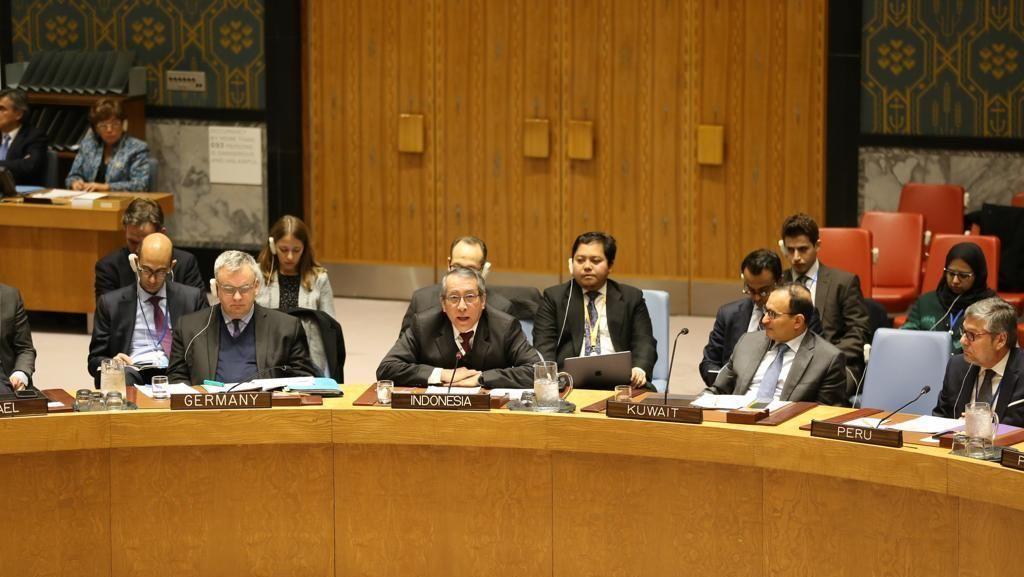 RI Galang Dukungan DK PBB Tolak Upaya AS Legalkan Permukiman Israel