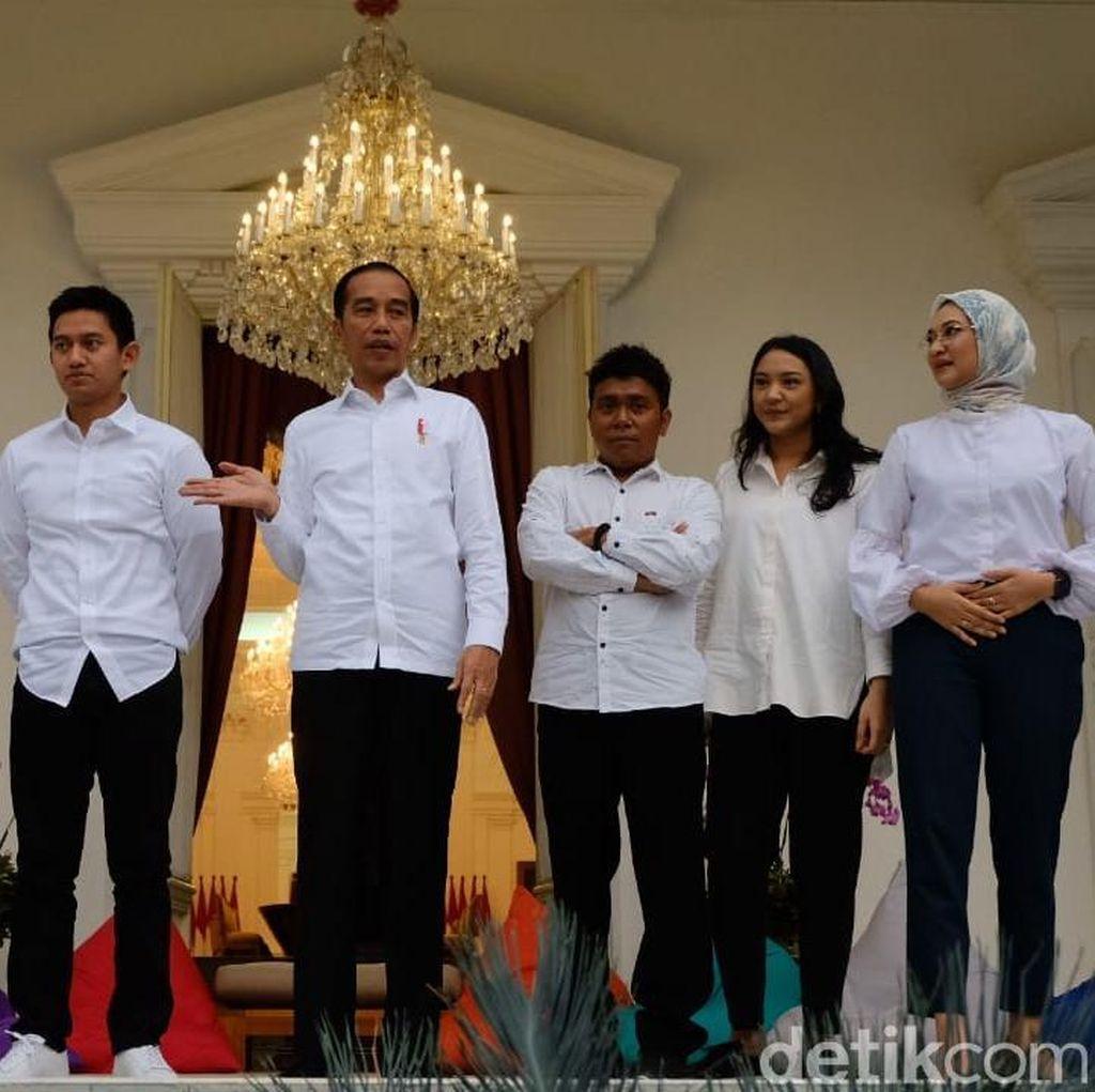 Video Suasana Santai Pengumuman Stafsus Milenial Jokowi di Istana