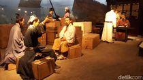 Belajar Sejarah Peradaban China di Bangunan Unik Nan Modern Ningbo Museum