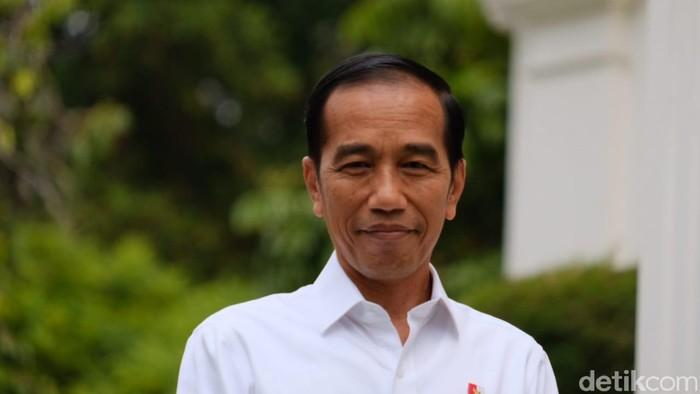 Presiden Jokowi (Andhika/detikcom)