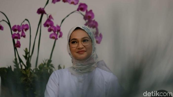 Angkie Yudistia, staf khusus Jokowi (Andhika/detikcom)