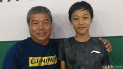 Berlatih di Lapangan Tak Layak, Madinah Tembus Final Audisi Bulutangkis