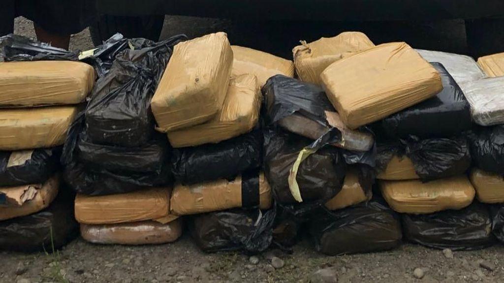 Polisi Tangkap Pembawa 58 Kg Ganja Asal Aceh di Langkat