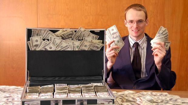 Ilustrasi penggandaan uang.