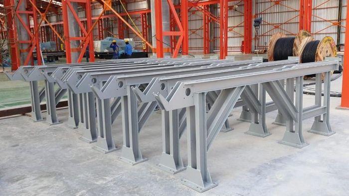 Indonesia punya pabrik baru pengolahan baja untuk menggenjot infrastruktur. Lokasinya di Cikande, Banten.