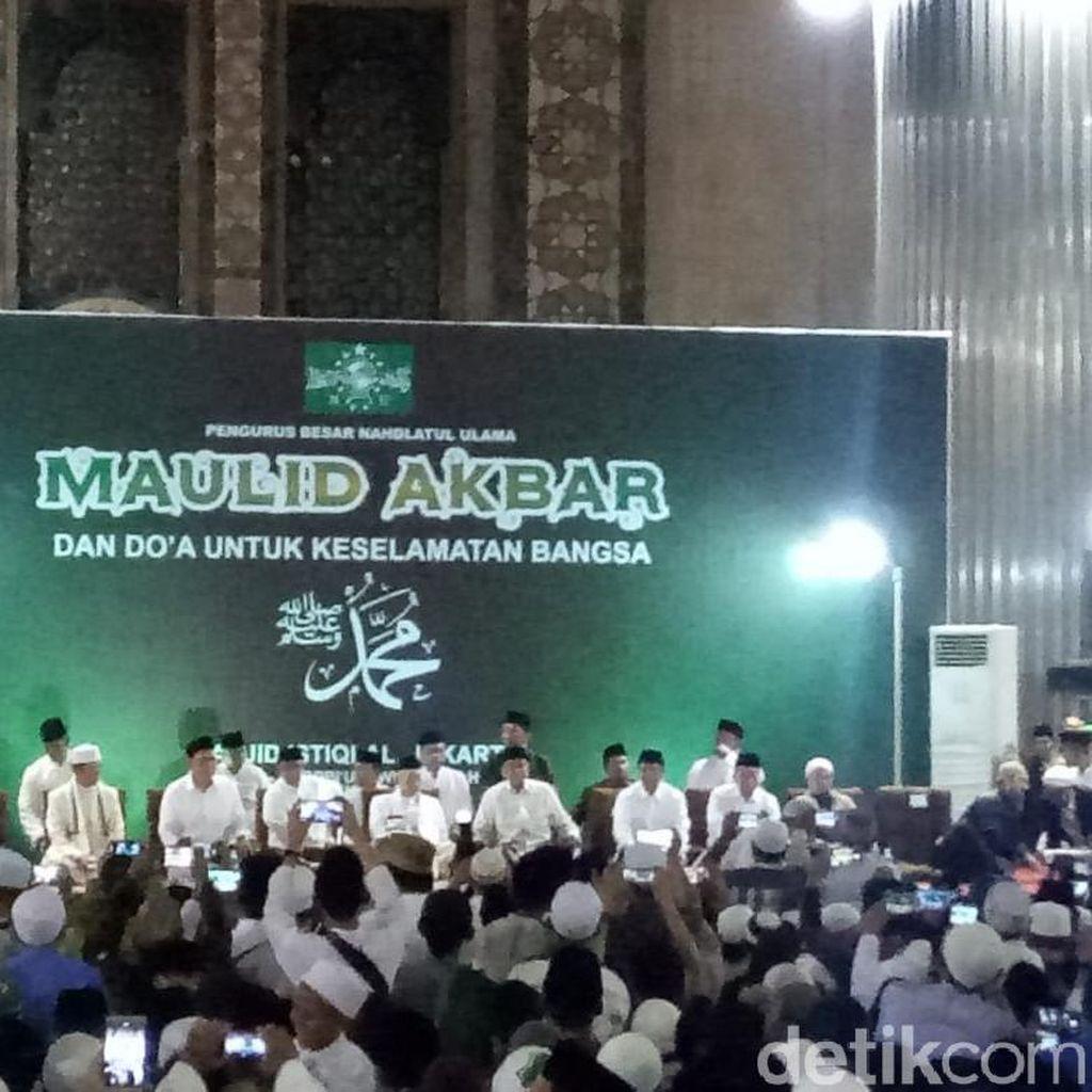 Hadiri Maulid Nabi di Istiqlal, Maruf Amin Ingatkan NU Berinovasi