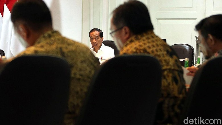 Presiden Jokowi  (Rengga Sancaya/detikcom)