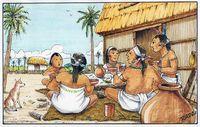 Suku Maya yang pertama kali mengolah kakao menjadi cokelat.