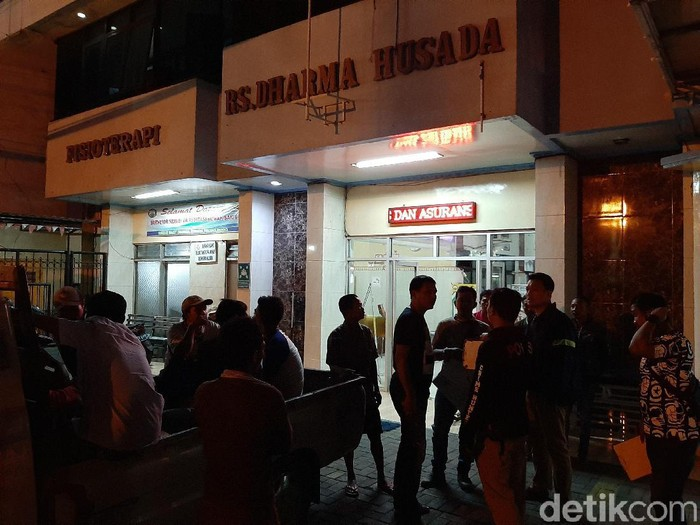 Suasana di Rumah Sakit Dharma Husada, Kota Probolinggo (M Rofiq/detikcom)