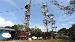 Penjaga Tower Perbatasan Jarang Pulang Kampung Demi Komunikasi Andal