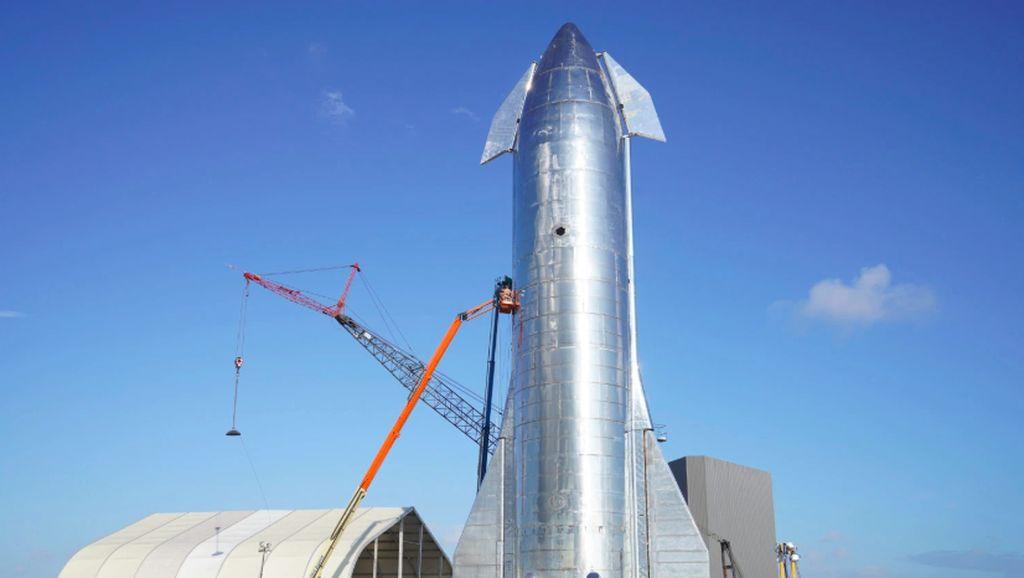 Mengenang Roket Starship Mk1 SpaceX yang Meledak