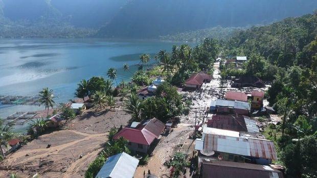 Permukiman di Kecamatan Tanjung Raya, Agam, Sumatera Barat (Sumbar).