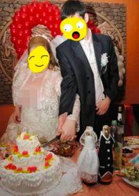 Malafungsi Busana, Payudara Pengantin Terekspos Saat Potong Kue Pernikahan