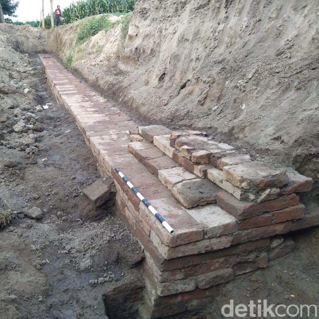 BPCB Ekskavasi Bangunan di Nganjuk yang Diduga Peninggalan Pramajapahit