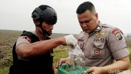 Polisi Jinakkan Bom Rakitan Terduga Teroris Medan