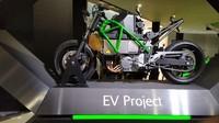 kini dikabarkan Kawasaki tengah melakukan projek besar dengan bakal mensulap Kawasaki Ninja menjadi listrik. Foto: Pool (Autoevolution)