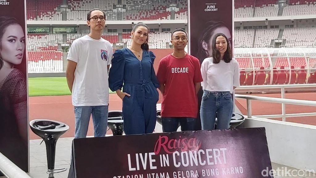 Sempat Takut, Raisa Tak Sangka Akan Gelar Konser di GBK