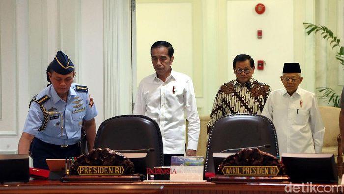 Jokowi Memimpin Ratas/Foto: Rengga Sancaya