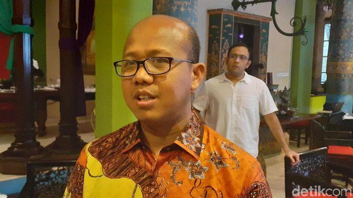 Foto: Sekretaris Lembaga Penjamin Simpanan (LPS) M Yusron (Muhammad Aminudin/detikcom)