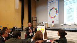 Sekjen Kemendes Sampaikan Komitmen RI Capai SDGs 2030 di Korsel