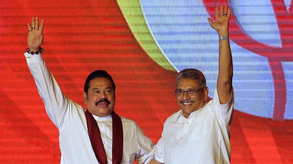 Pelantikan Rajapaksa Jadi PM Sri Lanka Lagi