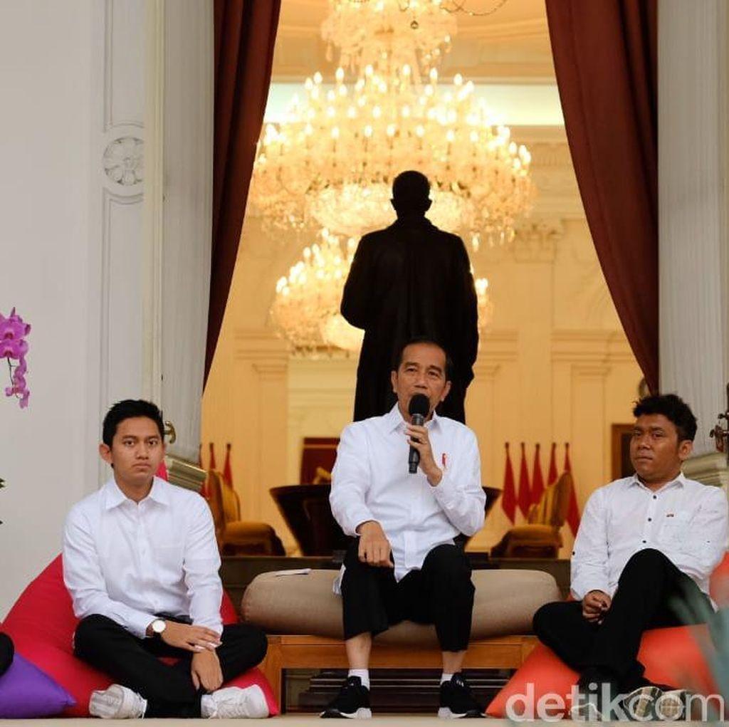 Ditambah 7 Milenial, Jokowi Punya 14 Staf Khusus
